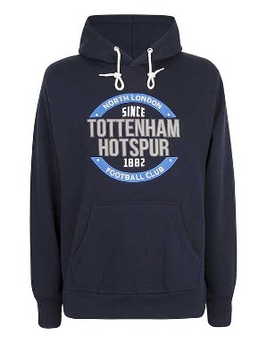 Spurs Mens Circle Applique Hoodie
