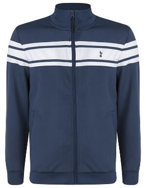Spurs Mens Contrast Zip Up Jacket