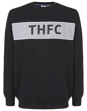 Spurs Mens Colour Panel THFC Sweat Top