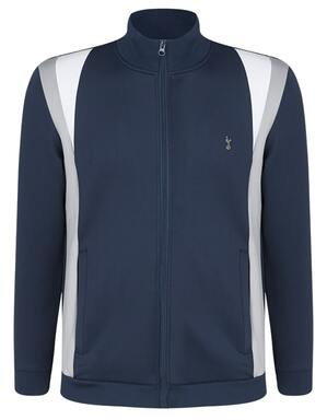 Spurs Mens Colour Block Zip Through Jacket