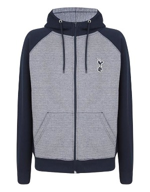 Spurs Mens Colour Block Side Panel Hoodie