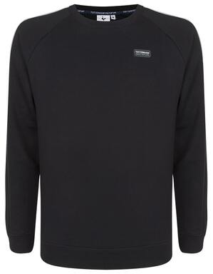 Spurs Mens Colour Block Sleeve Sweat Top