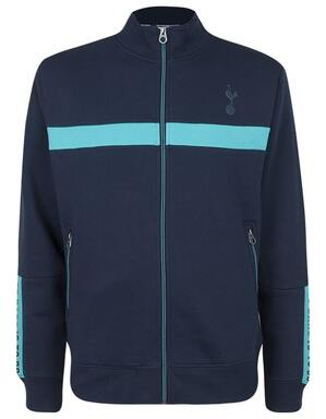 Spurs Mens Colour Contrast Funnel Neck
