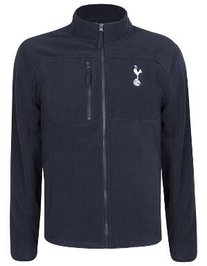 Spurs Mens Funnel Neck Fleece Jacket