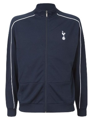 Spurs Mens Piped Detail Track Top