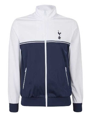 Spurs Mens Colour Block Track Jacket