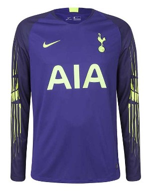 59b970535 Mens Spurs Home Goalkeeper Shirt 2018 19