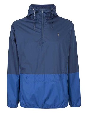 Spurs Mens Showerproof Quarter Zip Jacket