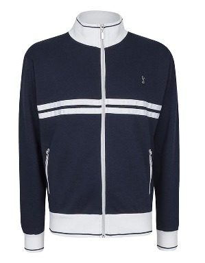 Spurs Mens Chest Stripe Track Jacket