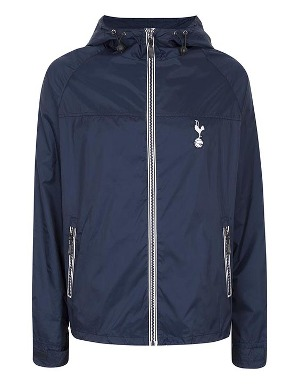 Spurs Mens Contast Zip Showerproof Jacket