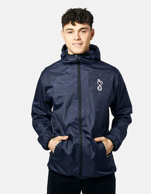 Spurs Mens Full Zip Shower Jacket