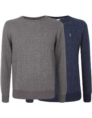 Spurs Mens Diamond Pattern Jumper