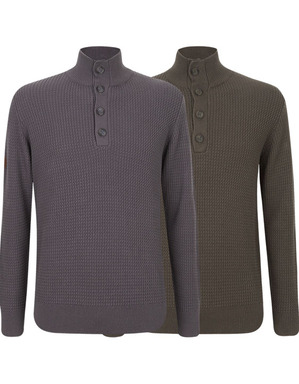 Spurs Mens Fisherman Jumper