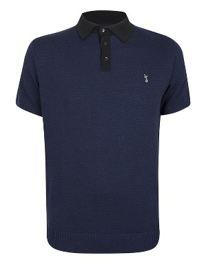 Spurs Mens Knitted Polo