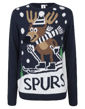 Spurs Adult Rudolph Christmas Jumper