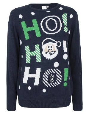 Spurs Adult Ho Ho Ho Christmas Jumper