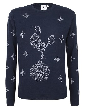 Spurs Adult Fairisle Cockerel Jumper