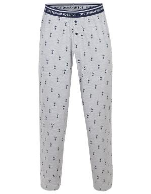 Spurs Mens All Over Print PJ Bottoms
