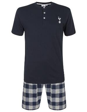 Spurs Mens Top And Short PJ Set
