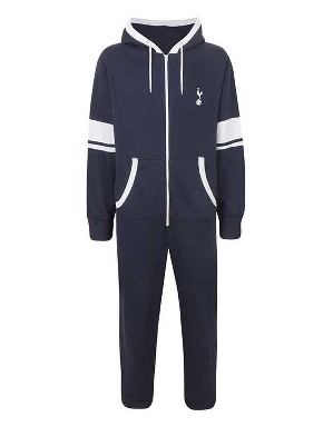 Spurs Mens Contrast Zip Onesie