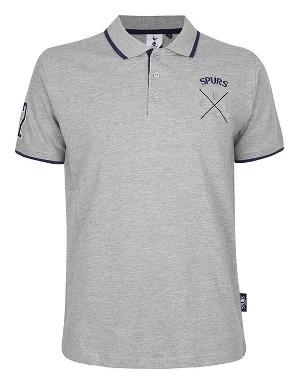 Spurs Mens Embossed COYS Polo