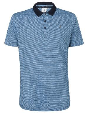 Spurs Mens Space Dye Polo