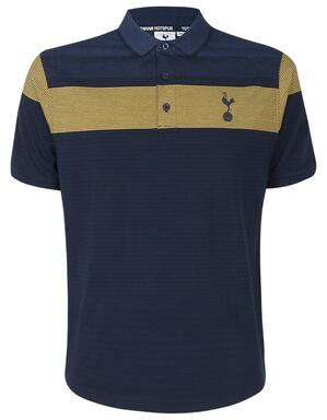 Spurs Stripe Yoke Polo