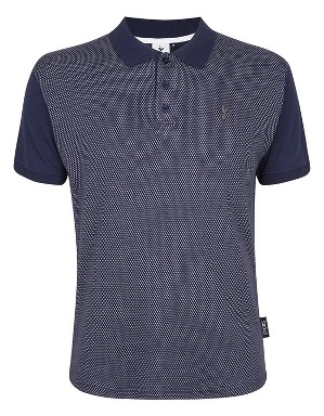 Spurs Mens Spot Pattern Polo