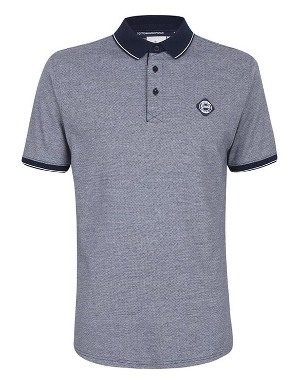 Spurs Mens Jacquard Spot Polo