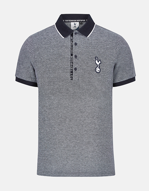 Spurs Mens Placket Detail Polo