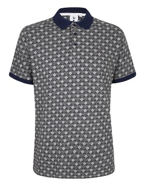 Spurs Diamond Pattern Polo