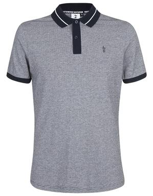 Spurs Mens Tipping Collar Polo