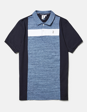 Spurs Mens Colour Block polo