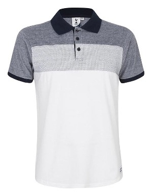 Spurs Mens Colour Blocking Polo