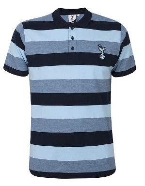 Spurs Mens Tonal Stripe Polo