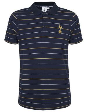 Spurs Mens 2 Colour Stripe Polo
