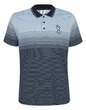 Spurs Mens Ombre Stripe Polo