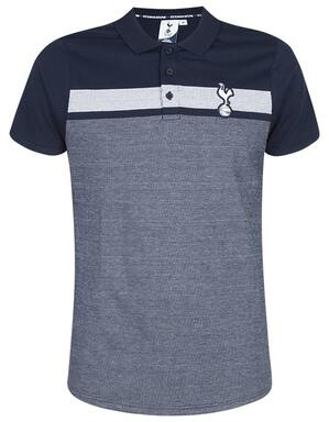 Spurs Mens Marl Mix Panel Polo