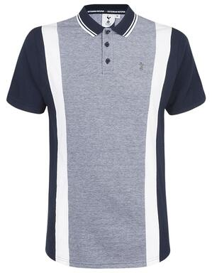 Spurs Mens Verical Panel Polo