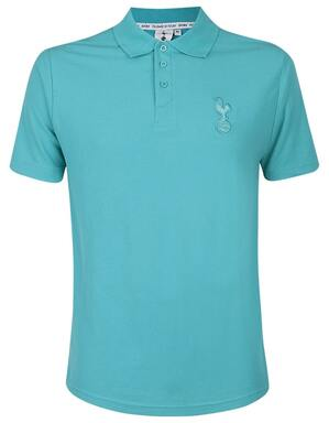 Spurs Mens Jade Green Essential Polo
