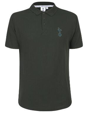 Spurs Mens Green Essential Polo