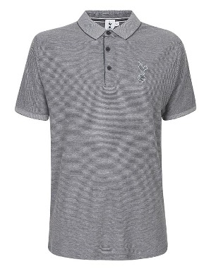 Spurs Mens Small Stripe Polo