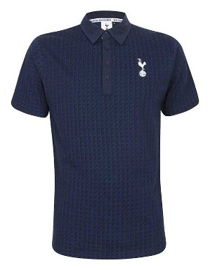 Spurs Mens Jacquard Triangles Polo