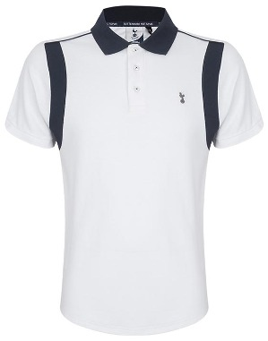 Spurs Mens Contrast Insert Panel Polo