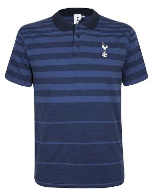 Spurs Mens Gradient Stripe Polo