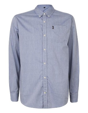 Spurs Mens Chambray Shirt