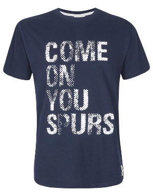 Spurs Mens Come On You Spurs T-shirt