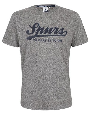 Spurs Mens Stacker Print T-Shirt