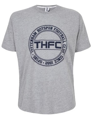 Spurs Mens THFC Circle Print T-shirt