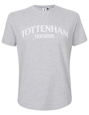 Spurs Mens Tottenham Rubber Print T-Shirt